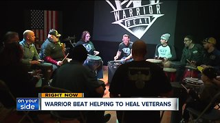 Warrior Beat: A group in Canton helps veterans cope with unique therapy