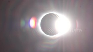 4K video captures the solar eclipse - Video