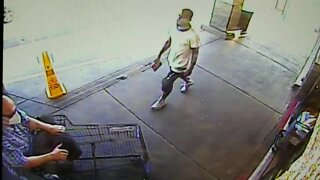 RAW: Man punched outside store