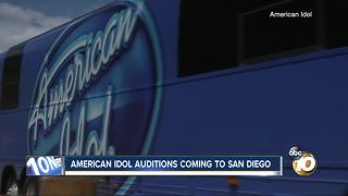 American Idol auditions coming to San Diego - Video