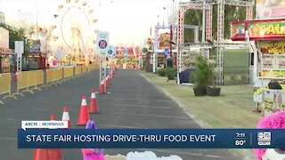 Enjoy fair food with the drive-thru State Fair eating event