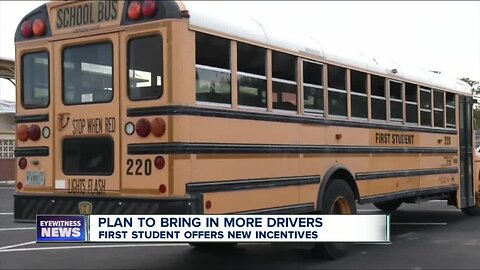 HELP WANTED: $3k signing bonus for school bus drivers