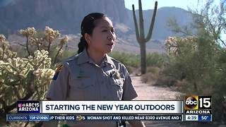 Start the new year outside! - Video