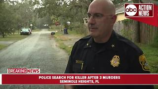 Seminole Heights Killer: Tampa's Interim Police Chief shares the latest on the search for a killer after 3 murders - Video
