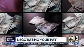 Free workshop teaches women how to negotiate salary - Video