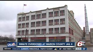 Inmate dies at Marion County Jail II in apparent overdose