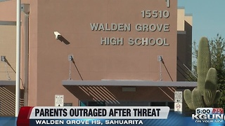 Police investigate threat against high school