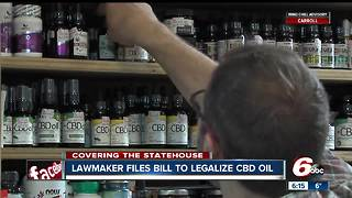 Indiana senator files bill to legalize CBD oil