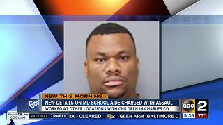 HIV-positive school aide charged with assault had contact with other children - Video