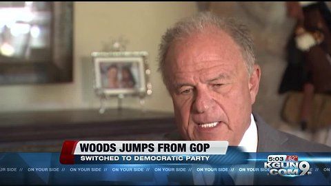 Former Arizona AG Grant Woods: Now re-registered as Democrat