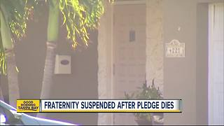 FSU Fraternity suspended after student dies at off-campus party - Video