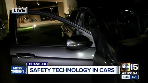 Top safety technology in cars displayed in Chandler