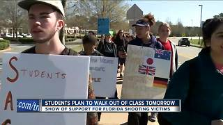 Students in Southeast Wisconsin plan to participate in national school walk out - Video