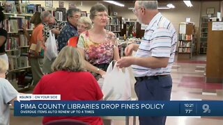 Pima County libraries dropping fines