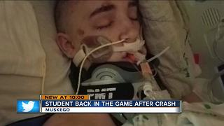 Muskego High School volleyball star recovers after near-death crash - Video