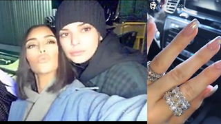 Did Kylie Jenner Get Engaged To Travis Scott On His Birthday?! - Video