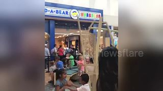"Build-A-Bear closes off stores after ""Pay Your Age"" deal draws overwhelming crowds - Video"
