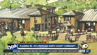 North County community approved - Video