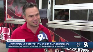 'Fork & Fire' debuts new food truck