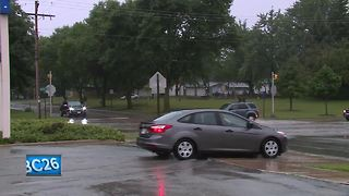 Authorities warn drivers about flooded streets
