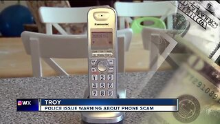 Police issue warning about phone scam
