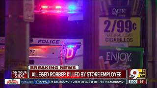 PD: Corner store worker shoots would-be robber in South Fairmount - Video