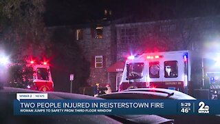 Overnight apartment fire leaves two hospitalized, six families without a home in Reisterstown