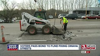 Voters Pass Bond to Fund Fixing Omaha Streets