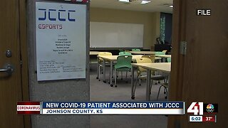 Woman associated with JCCC tests 'presumptive positive' for COVID-19