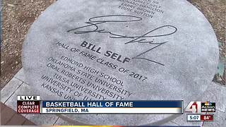 KU's Bill Self to be inducted into Hall of Fame - Video
