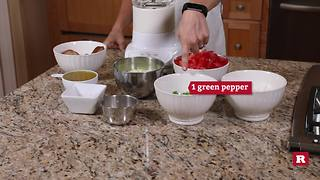 Making gazpacho with Elissa the Mom | Rare Life - Video