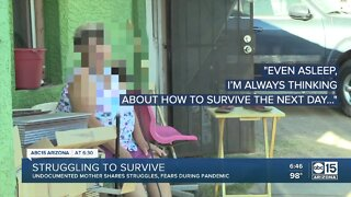 Undocumented mother shares struggles, fears during pandemic