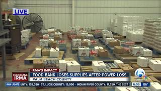 Emergency food and donation drive for food bank