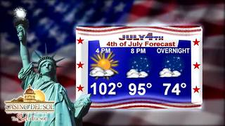 First Warning Weather Wednesday July 4, 2018 - Video