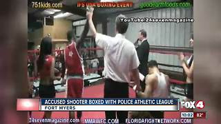 Police shooter suspect a boxer with Police Athletic League