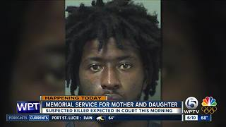 West Palm Beach double murder suspect to face judge Wednesday - Video