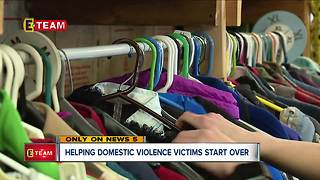 Local moving company helps domestic violence victims start over - Video