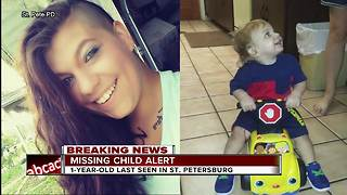 Missing Child Alert issued for St. Pete one-year-old, mother after car found abandoned
