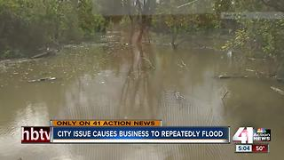 Flooding on 24 Highway continues to plague business owners