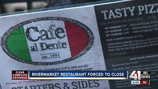 Rivermarket restaurant forced to close, owner says - Video