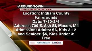 Around Town 7/30/18: 164th Ingham County Fair