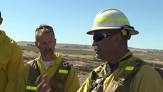 Fire investigators train for wildfire season in Boise - Video