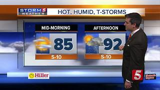 Henry's Early Morning Forecast: Tuesday, June 13, 2017