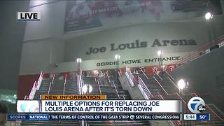 What's going to replace Joe Louis Arena - Video
