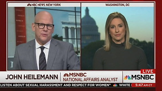 NBC Reporter Makes Bombshell Claim: Authorities Have Enough to Charge Flynn and His Son - Video