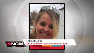 Mother murdered on Detroit's west side, police looking for suspect - Video