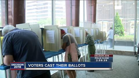 Heavy turnout for primary vote in Milwaukee
