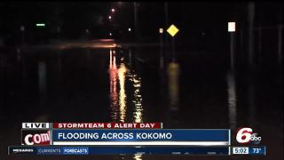 Kokomo deals with early morning floods - Video