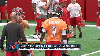 First day of Buccaneers training camp - Video