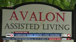 Assisted living facilities prepare for Irma
